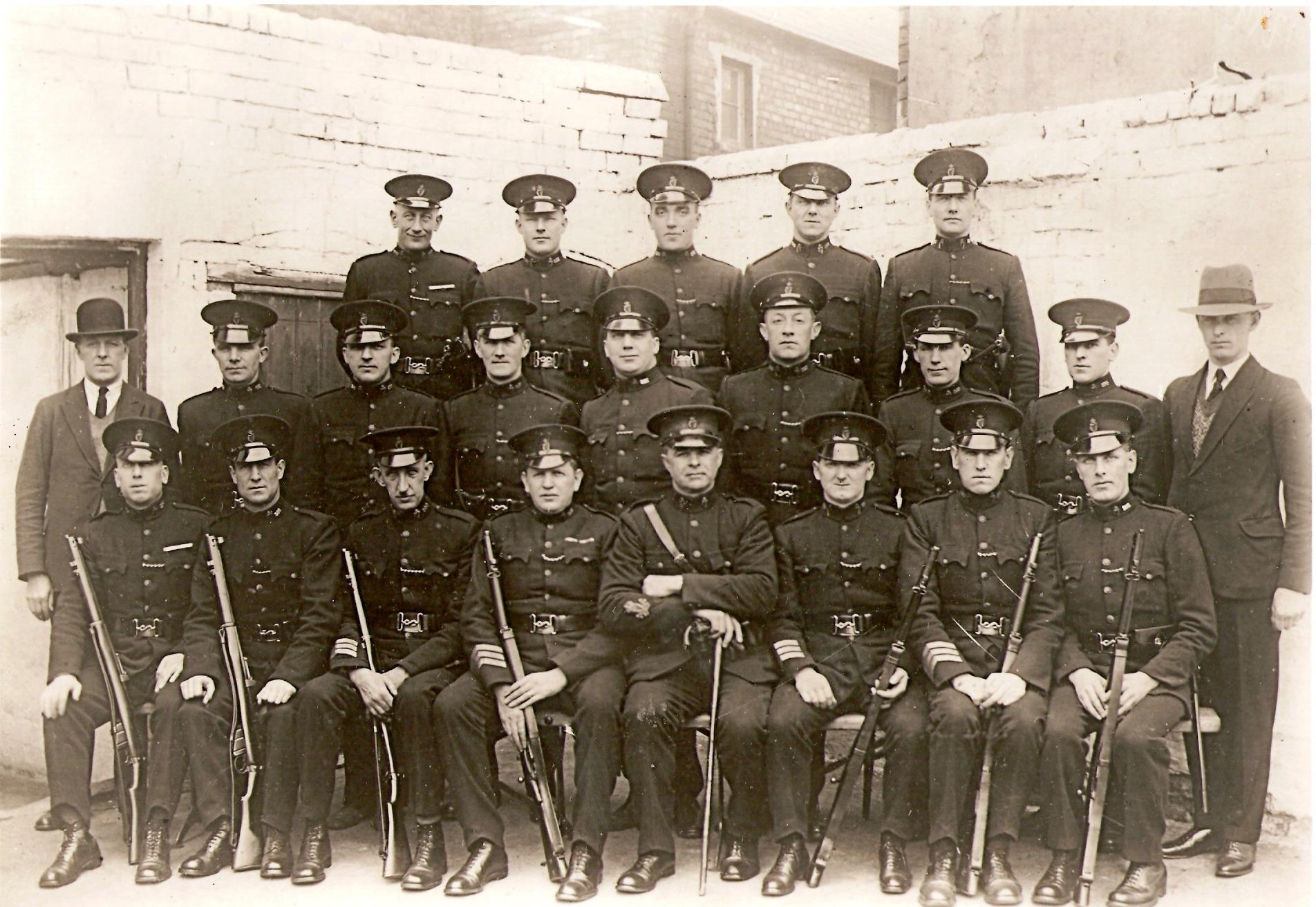 Ruc hastings street garrison brickfields district belfast 1923 24