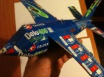 Sibusiso started making planes this size.