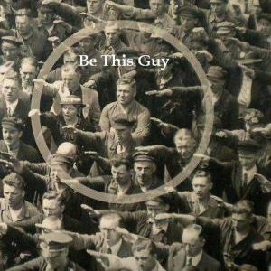Be This Guy: August Friedrich Landmesser, a worker at the Hamburg shipyard Blohm + Voss, refusing in 1936 to make a Nazi salute at a mass party rally. (However, I can now reveal the true story of his so-called heroic gesture. Too stingy to buy deoderant. Underarm sweat stains. Too embarrassed to raise his arm. This story is really all about personal hygiene. Don't be this guy.)