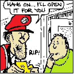 Postman Plod - from Viz